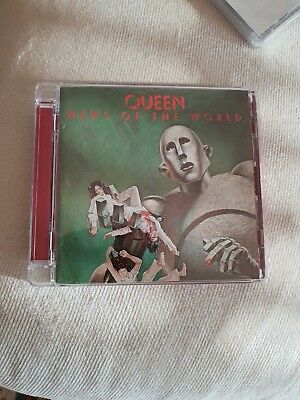 QUEEN - News of the World - CD Remastered Ed. 2011 LIKE NEW