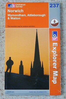 Ordnance Survey Explorer Map 237 of Norwich