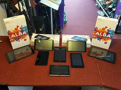 (Job lot) x8 Faulty Tablets - Spares or Repairs