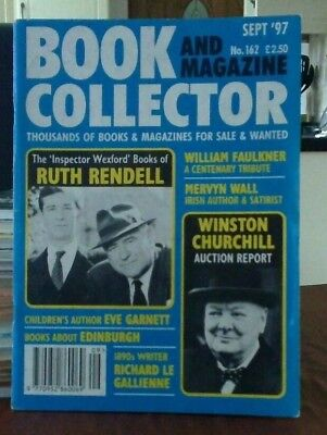 Book and Magazine Collector #162 Sept 97 Ruth Rendell Winston Churchill