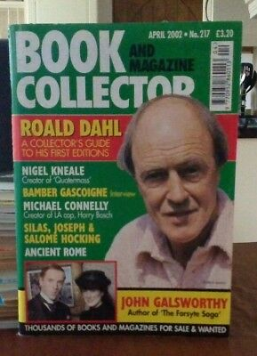 Book and Magazine Collector #217 April 02 Roald Dahl