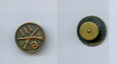 WWI WW1 AEF Collar Disc Lots-111th Infantry Regiment 28th Division Company Co. B
