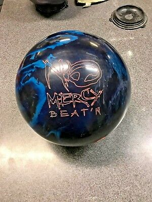 Hammer No Mercy Beat 'N  Reactive Bowling Ball 15 lb Used Nice!
