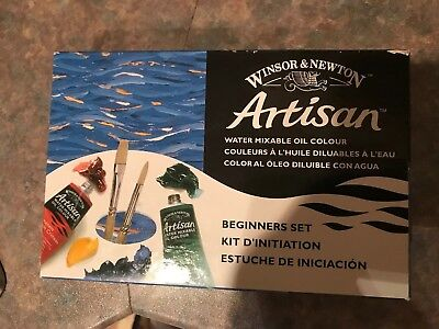 Winsor & Newton Artisan Water Mixable Oil Paint Beginners Set Artists Painting