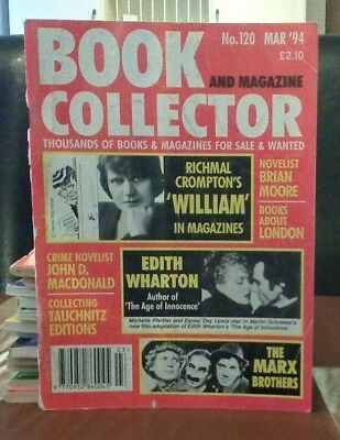 Book and Magazine Collector #120 Mar 94 Richmal Crompton