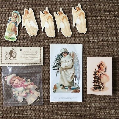 Assortment of 8 die cut Christmas gift tags,sticker,card