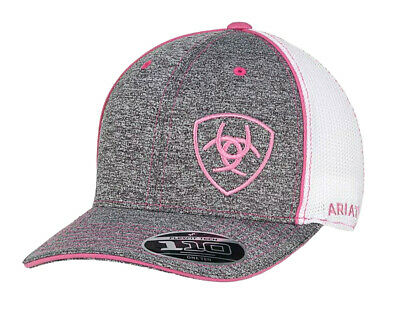 7e25fce1cc1a8 ARIAT WOMENS HAT Baseball Cap Mesh Snap Back Patch Multicolor ...