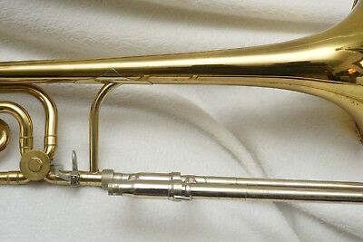 King 3B Trombone With F Attachment GIG READY !