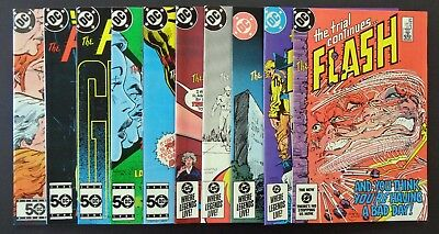 THE FLASH (1st Series) #s 341,342,343,344,345,346,347,348,349,350 (DC 1985)