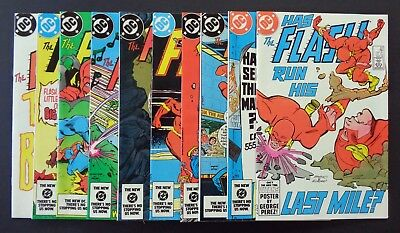 THE FLASH (1st Series) #s 331,332,333,334,335,336,337,338,339,340 (DC 1985)