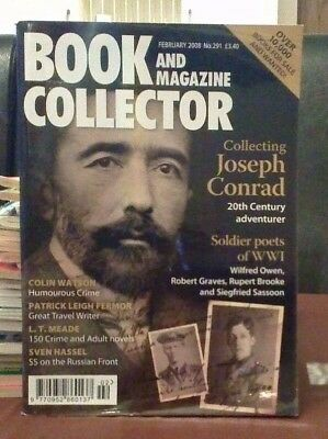 Book and Magazine Collector #291 Feb 08 Sven Hassel  WW1 Poets