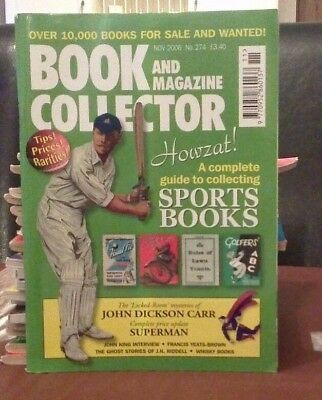 Book and Magazine Collector #274 Nov 06  Sports Books