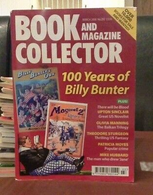 Book and Magazine Collector #292 March 08 Billy Bunter