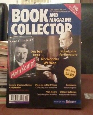Book and Magazine Collector #306 April 09 Hitler and Churchill