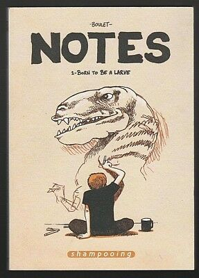 BD NOTES tome 1 Born to be a larve Boulet Shampooing
