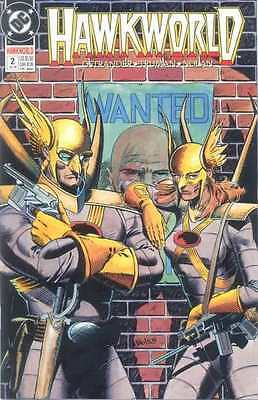 Hawkworld #2 (July 1990) - with Hawkman & Hawkwoman