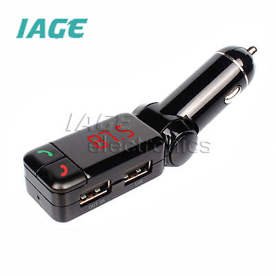 Kabellos Bluetooth FM Transmitter MP3 Player Car Kit Hands Free Calling with USB