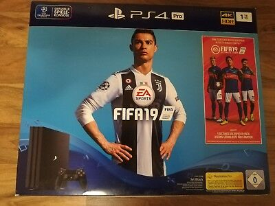 Sony playstation 4 pro 1tb  Bundle Fifa 19