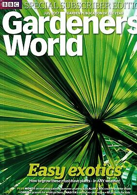 BBC Gardeners World July 2017  ~ Special Subscriber's Edition