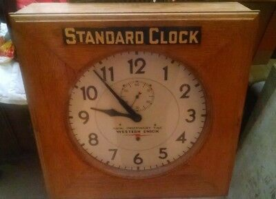 Self Winding Clock Company Western Union Naval Observatory Master Office UPRR