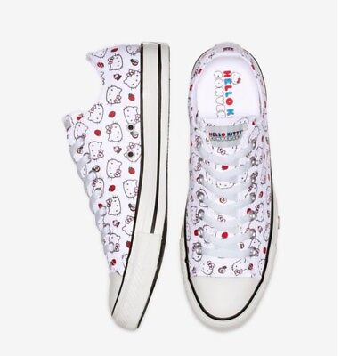 2f9266c3f7f14c NIB Converse x Hello Kitty Chuck Taylor All Star Low Top Sneakers Shoes  8~8.5