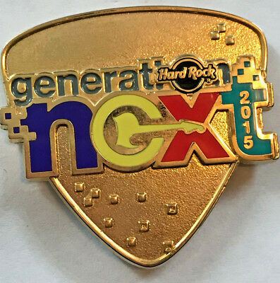 Hard Rock Cafe 2015 GM Global Conference Generation Next HRC STAFF PIN LE 700
