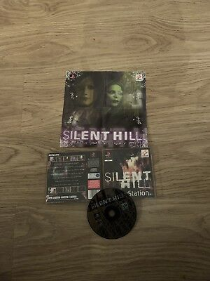 Silent Hill Ps1 Playstation 1 Game Retro Rare Horror Black Label