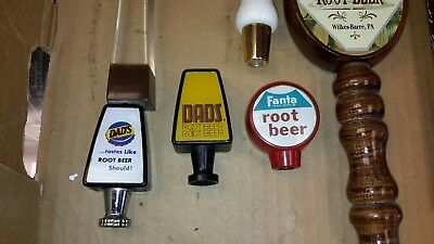 Old    ROOT BEER TAP HANDLE  FANTA AND COKE