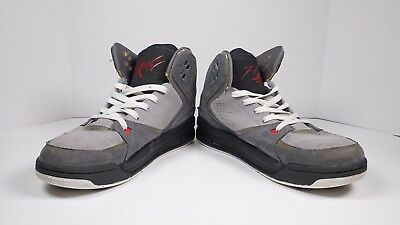 Nike Air Jordan Sc-2 [Light Graphite/white] Mens Size 8.5 #454050-002 Very Nice!