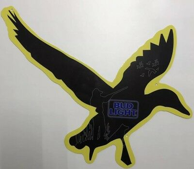 Bud Light Duck Hunting Beer Sign
