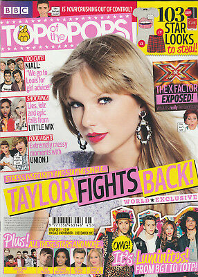 BBC TOP OF THE POPS Magazine 6 November 2013 - Taylor Swift (Issue 243)