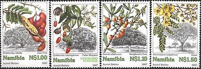 NAMIBIA, SC 849-52, 1997 Trees issue, complete set of 4. MNH