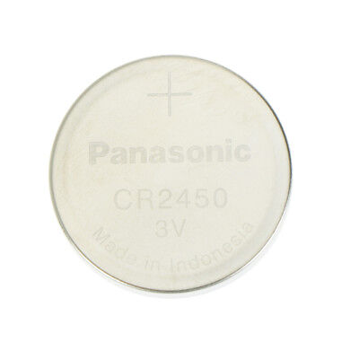 1Pc 3V Battery For Panasonic CR2450 2.4cm *0.5cm Battery Button Cell Coin SA