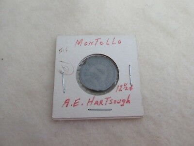 Nevada trade token A.E. Hartsough Modello 12 1/2 cents