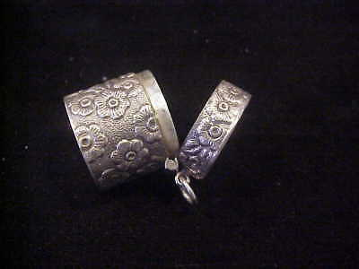 Thimble Case/holder For Thimbles, Sterling Silver