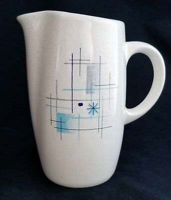 """Classic 1950's Franciscan """"Oasis"""" Small Serving Pitcher, Excellent Condition"""