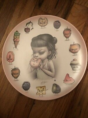 Mab Graves The Epicure Just One Bite Girl Melamine Dinner Plate 10 Inches 2016