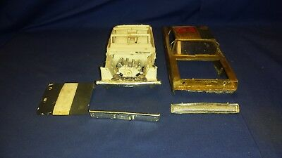 VTG mpc Dodge 1967 CHARGER For Parts Car Model Kit  SHIPPING INCLUDED