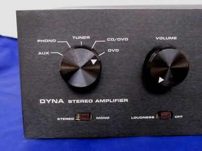 Black Anodize Faceplates For Dynaco Sca Amp Without Tone Controls