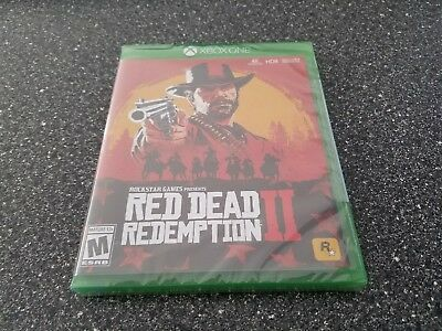 Xbox One Red Dead Redemption II 2 Game ~ BRAND NEW SEALED
