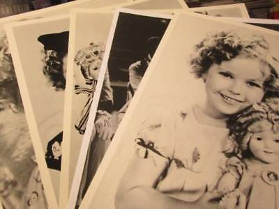 5 Shirley Temple Promotional Photos-Black & White, 8x10's
