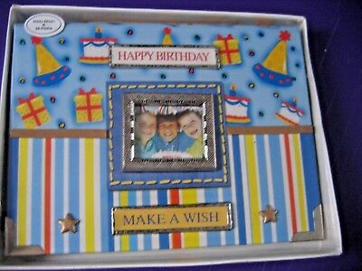"Nip ""happy Birthday""  ""make A Wish"" Photo Album; Holds 24 4""x6"" Photos."