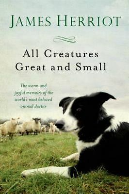 All Creatures Great and Small  by James Herriot  (BRAND NEW PAPERBACK)