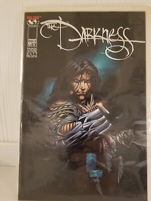 THE DARKNESS Vol 1 Issue 6 Top Cow Image Ennis Silvestri Batt Firchow