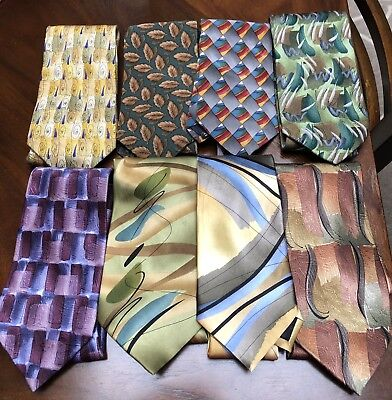 LOT Of Eight JERRY GARCIA Neckties Some Ltd Edition All EUC Sun Movement MORE