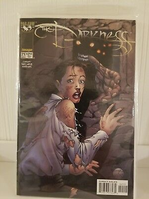THE DARKNESS Vol 1 Issue 21 Top Cow Image