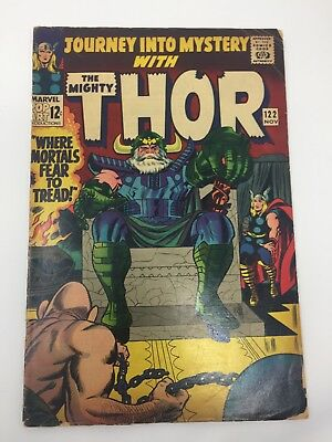 Journey Into Mystery Thor #122 (1965 Marvel Comics) Absorbing Man Appearance
