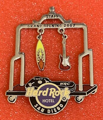 Hard Rock Cafe Grand Opening Staff Pin San Diego Hotel
