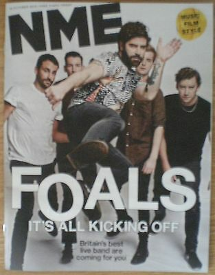 The Foals – NME magazine – 16 October 2015