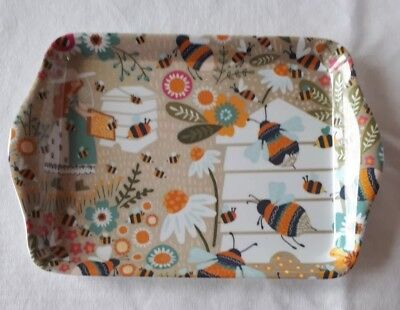 Bee Keeper Ulster Weavers Melamine Small Scatter Tray Brand New